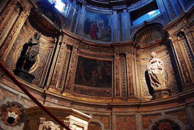 transept gauche, la chapelle de Saint-Jean-Baptiste Sienne