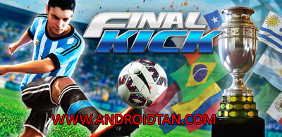 Download Final kick: Online Football Mod Apk + Data v5.4 (Unlimited Money/VIP/Ads Free) Terbaru 2017
