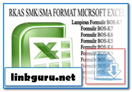 Download Contoh RKAS SMA Format Excel Tahun 2017