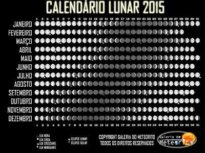 Calendário Lunar 2015