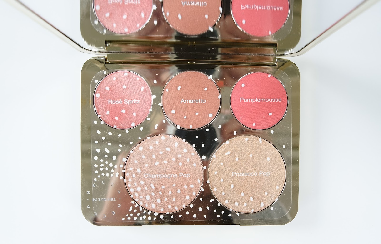 becca jaclyn hill champagne collection palette
