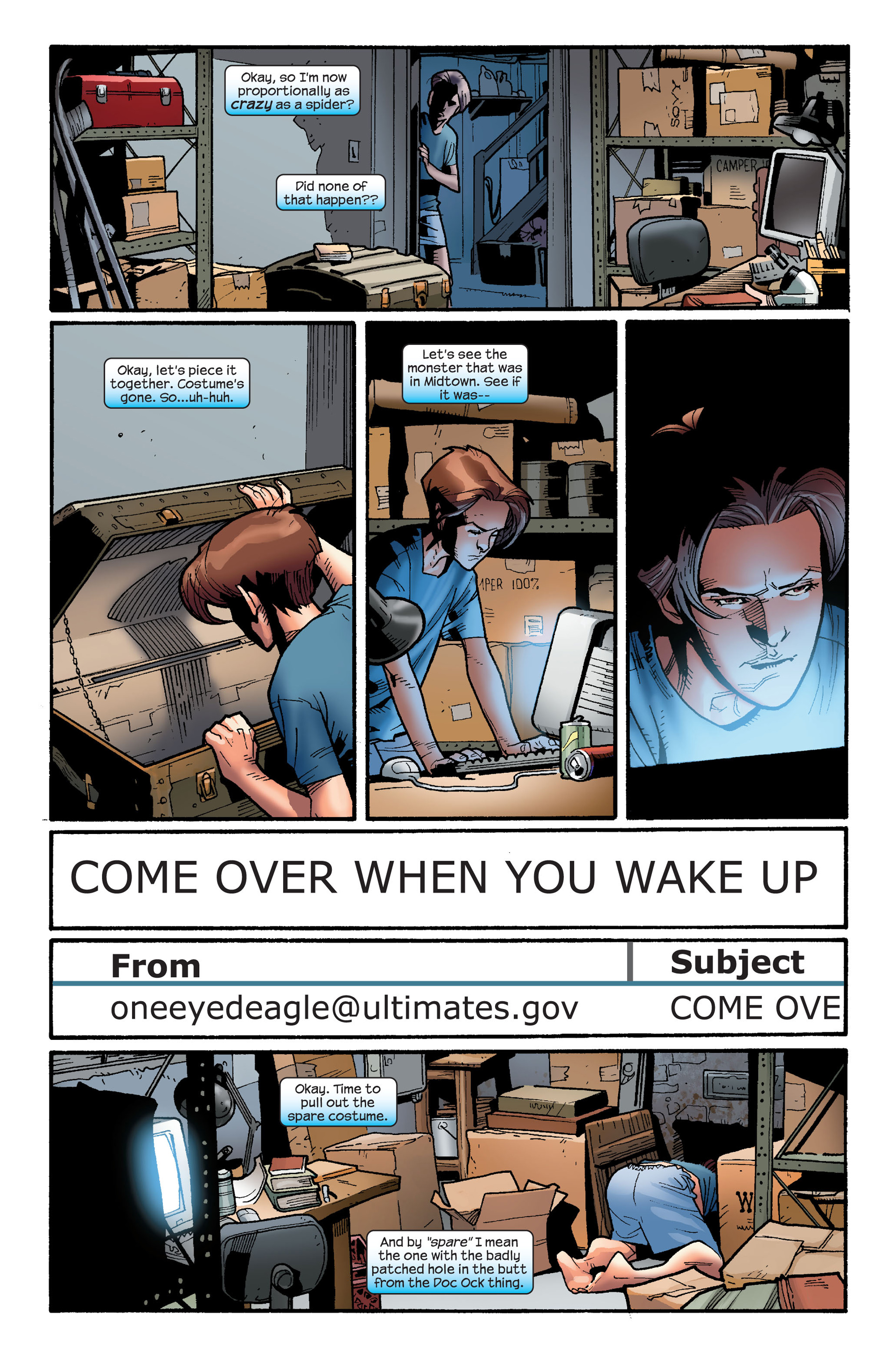 Read online Ultimate Spider-Man (2000) comic -  Issue #126 - 17