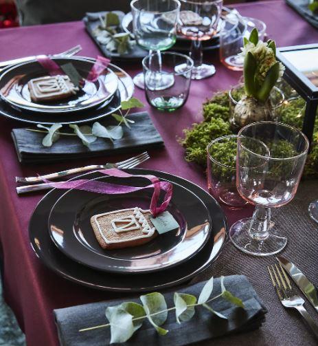 Navidad: cómo decorar tu mesa con Ikea