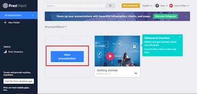 Cara Membuat Presentasi Yang Menarik Dengan Prezi