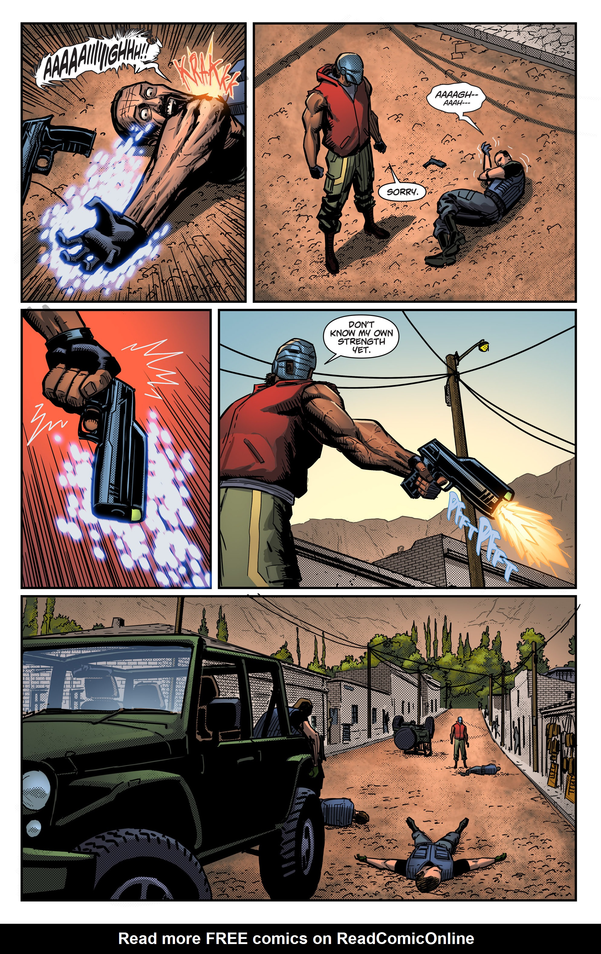 Read online Noble comic -  Issue #1 - 15
