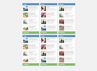 Cara Memasang Widget Daftar Isi / Recent Post Perlabel Blog Seperti Kang Ismet