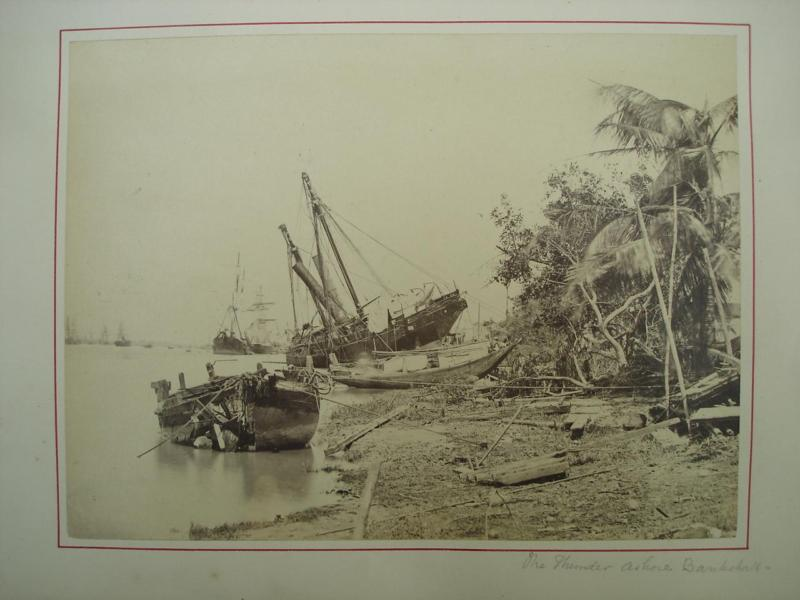 Aftermath of Cyclone in Kolkata (Calcutta) - 1860's