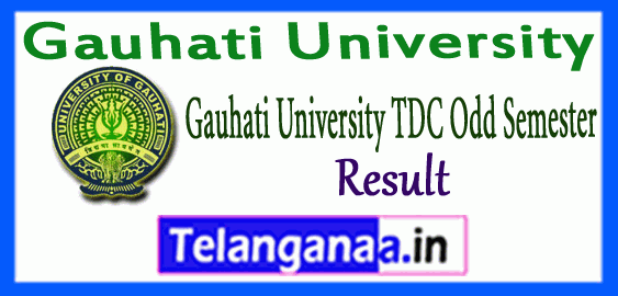 Gauhati University TDC 1st 3rd 5th Semester Exam Result