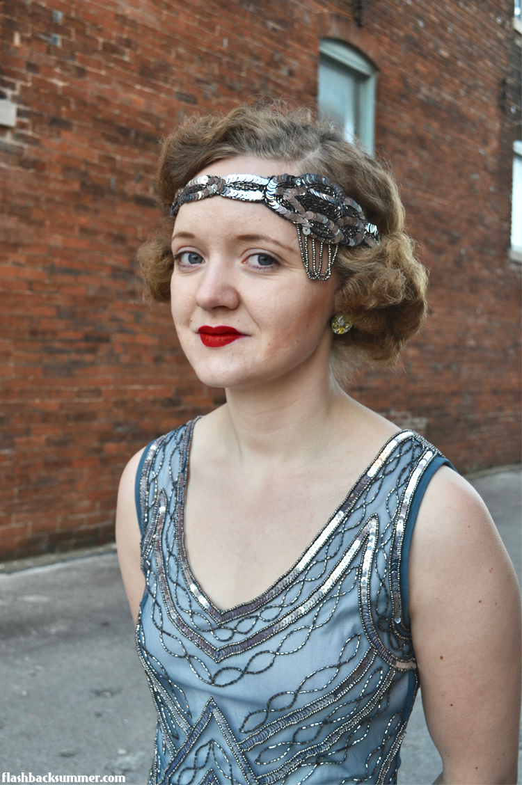 Flashback Summer: Gatsbylady Isobel Petite Dress review - 1920s party