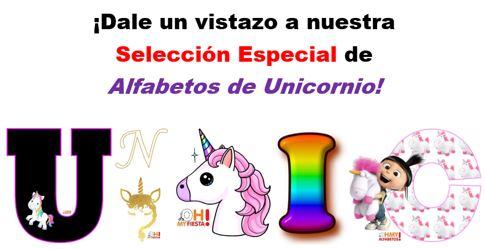 Alfabetos de Unicornio