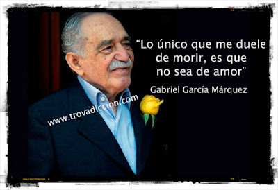 Imagén de García Márquez para ilustrar el texto