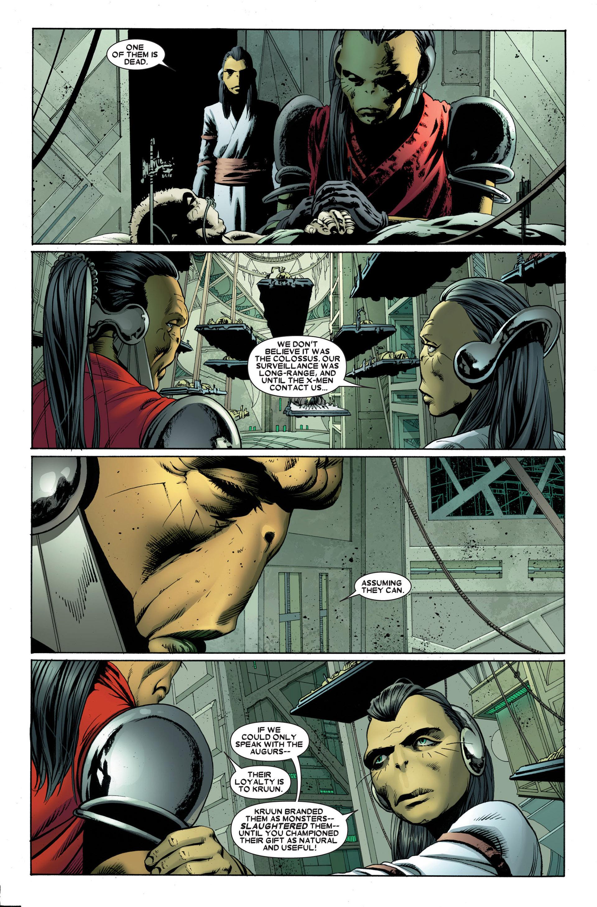 Read online Astonishing X-Men (2004) comic -  Issue #23 - 2