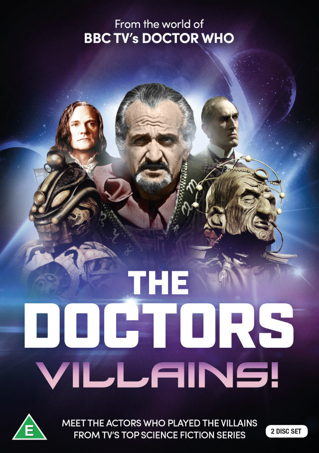 THE DOCTORS: VILLAINS dvd