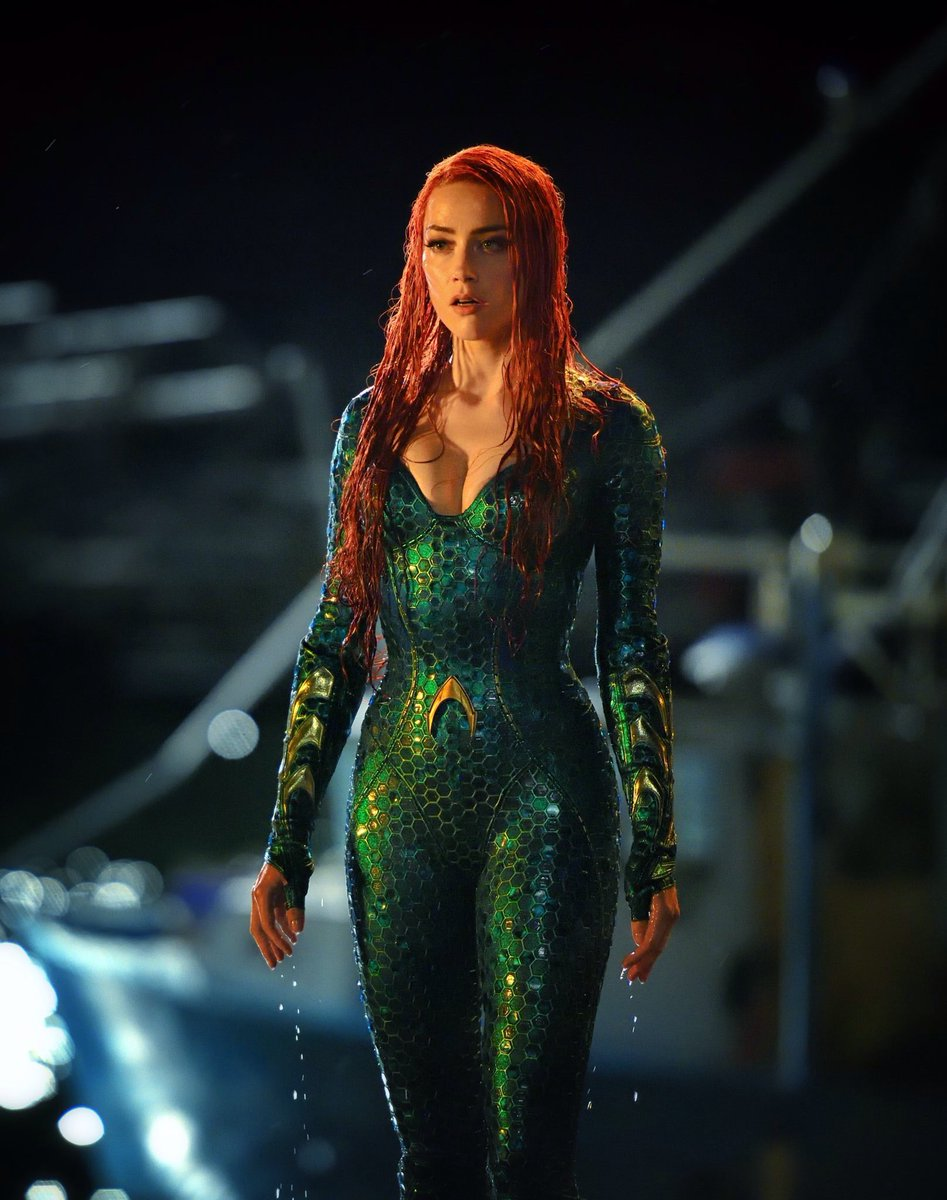 Amber Heard - First look at Mera in Aquaman