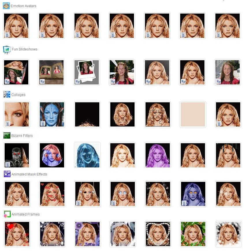 Create/make avatar Animated mask Effects Funny virtual ... - photo#19