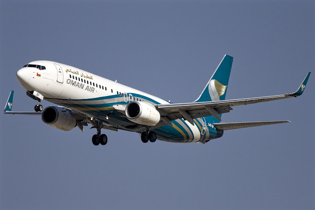 Boeing 737-800 Oman Air A40-BP May 2018 Delivery
