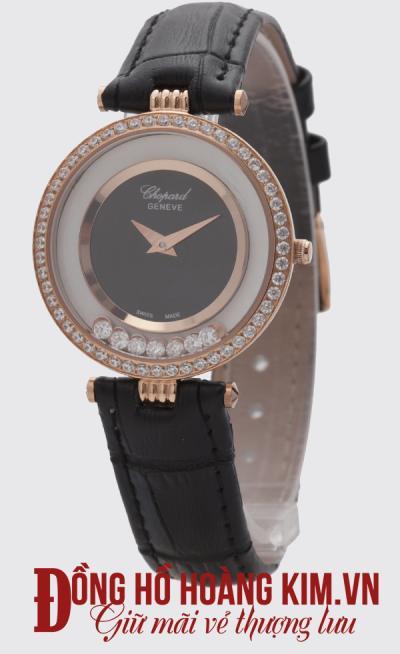 đồng hồ chopard nữ dây da đẹp