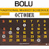 BOLU MARKET DAY SCHEDULE 2014