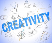 """Creativity Word Shows Ideas Inventions And Creatives"" by Stuart Miles"