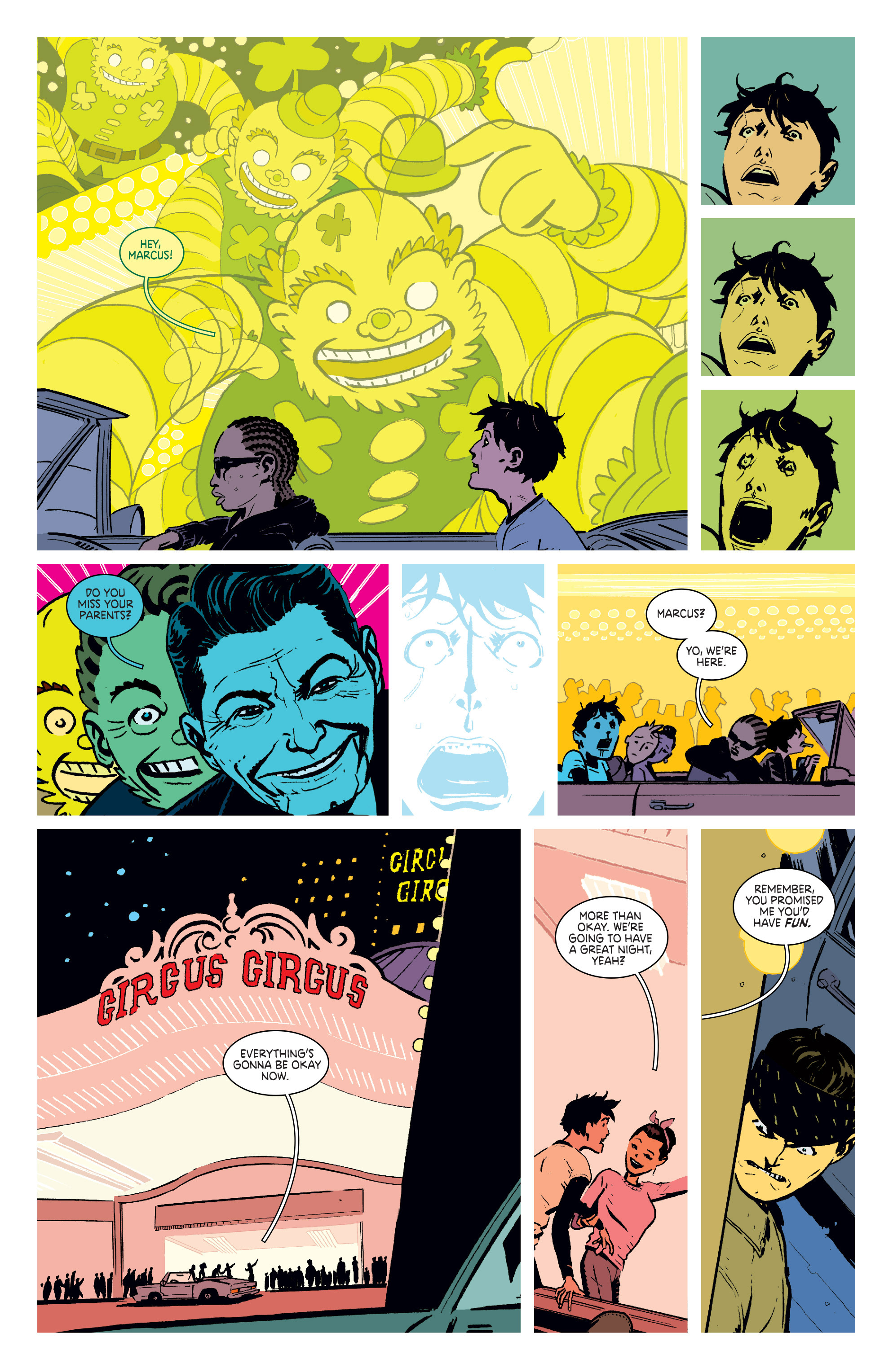 Read online Deadly Class comic -  Issue #4 - 21