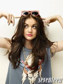 Falling Hair Haircut Wallpaper Gossip Freak Lucy Hale Covers Seventeen Magazine June