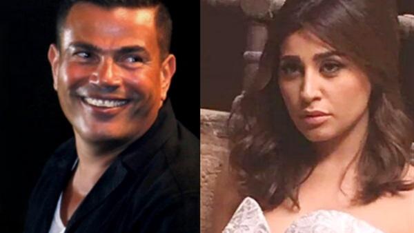 حقيقة خبر زواج عمرو دياب من دينا الشربيني