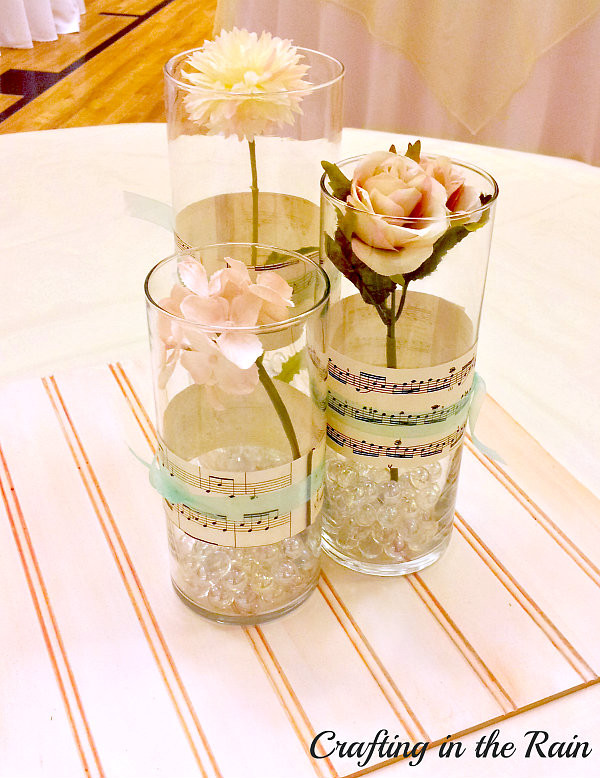 Fancy and Frugal Wedding Decorations | Crafting in the Rain