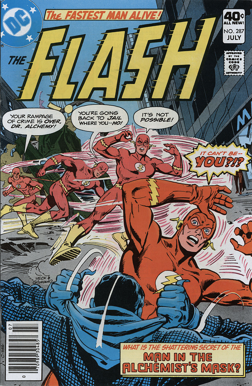 The Flash (1959) 287 Page 1
