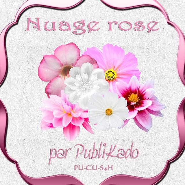 Nuage rose - CU