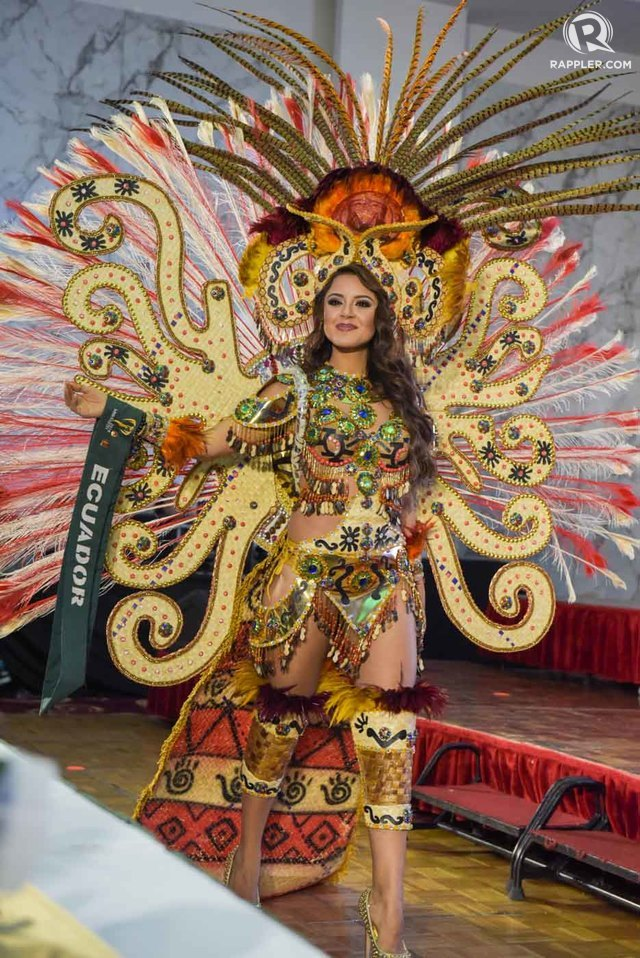 Ecuador Costume Katherine Espin Gomez  Miss Earth Ecuador  in her national costume during the  Miss Earth 2016  National Costume Presentation  sc 1 st  Nick Verreos & SASHES AND TIARAS.....Miss Earth 2016 Finals: EVENING GOWNS RECAP ...