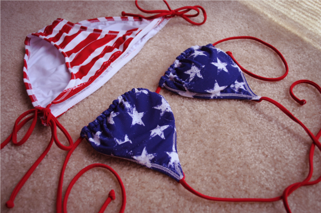 american flag bikini, target, Stars and Stripes, stars, stripes, summer, swimwear