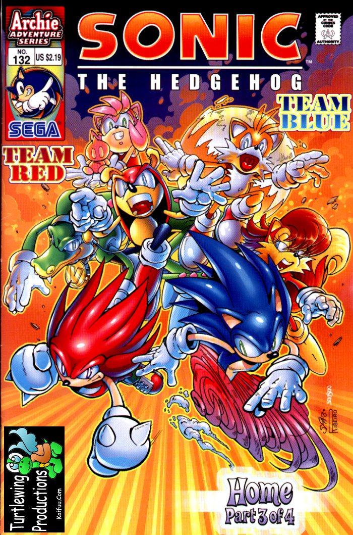 Read online Sonic The Hedgehog comic -  Issue #132 - 1