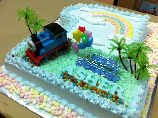 Baby Asher 1st Birthday cake