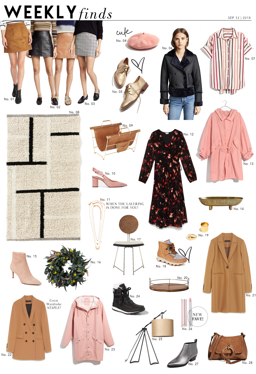 Shopping File: Recent Finds Perfect for Fall!
