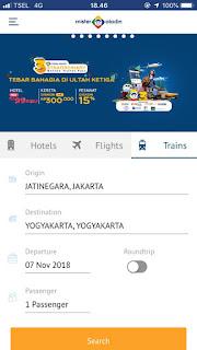 Intip 5 Keuntungan Jika Anda Pesan Tiket Kereta Jakarta Jogja di Mister Aladin