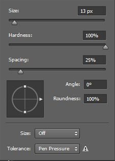Setting Brush Photoshop