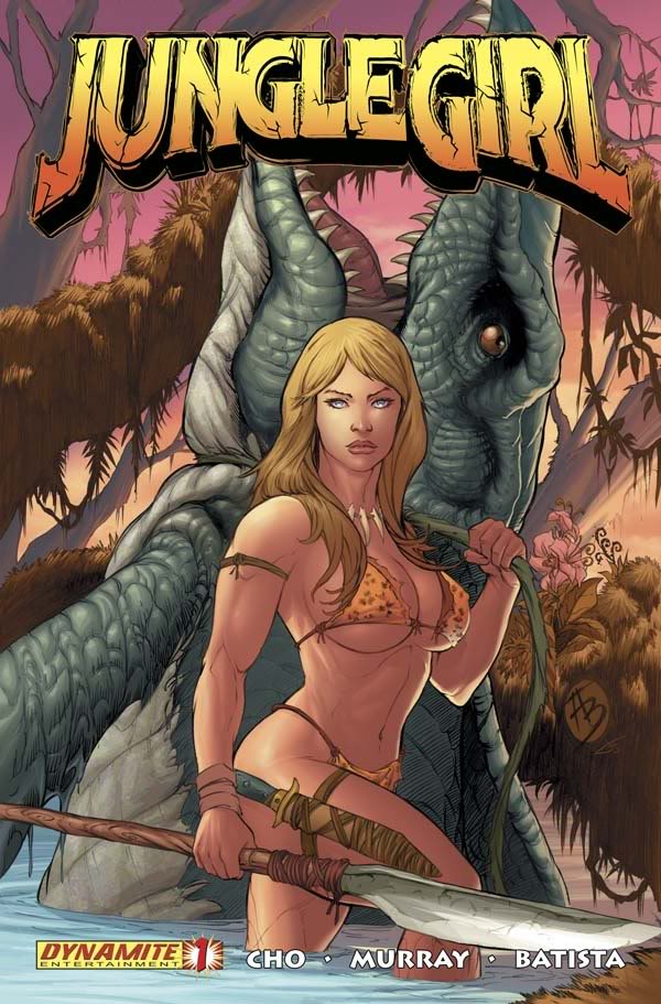 Read online Jungle Girl comic -  Issue #1 - 2