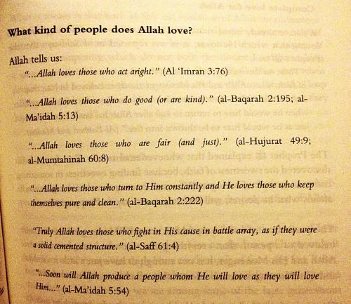 Allah tells us : Islamic Quotes