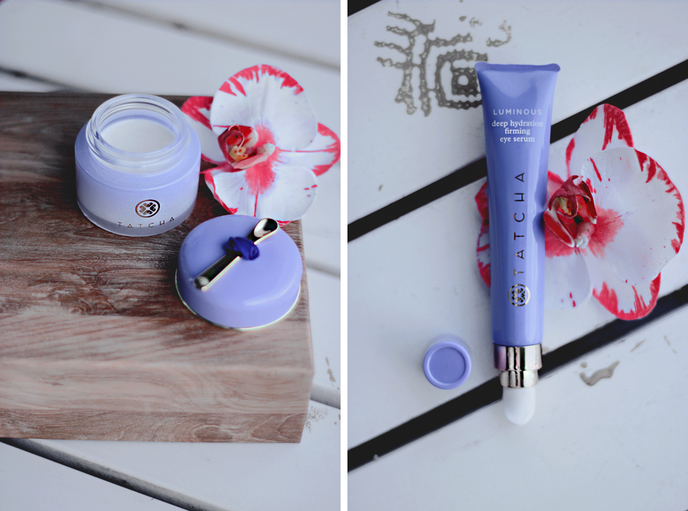 TATCHA DEEP HYDRATION FIRMING EYE SERUM aimerose beauty blog review