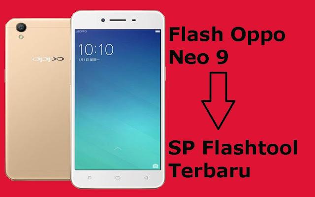 Cara Flash Oppo A37 (Neo 9) Menggunakan SP Flashtool Terbaru