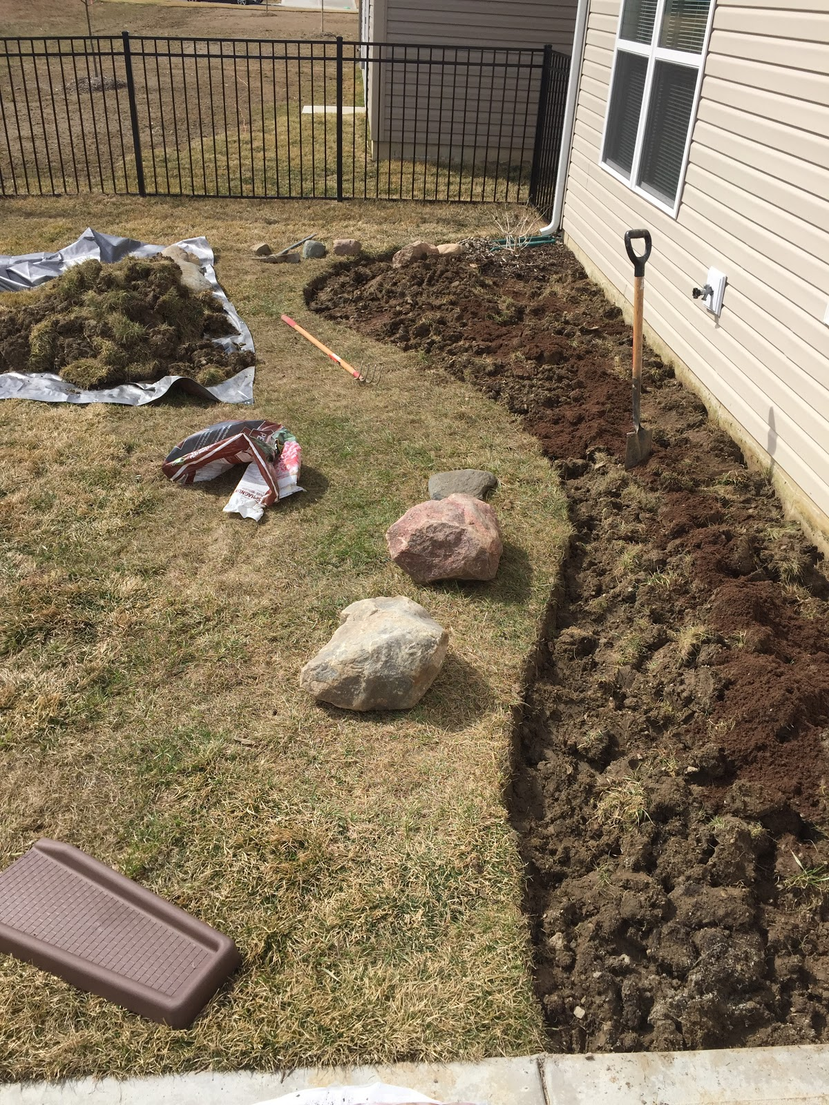clay soil with peat moss