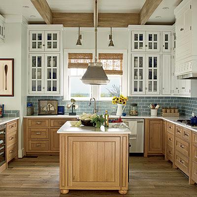 Project Shannon: Beach House - White Beach House Kitchen