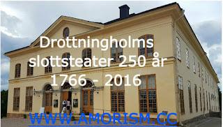 Image of Drottningholms slottsteater 250 year jubilee 2016