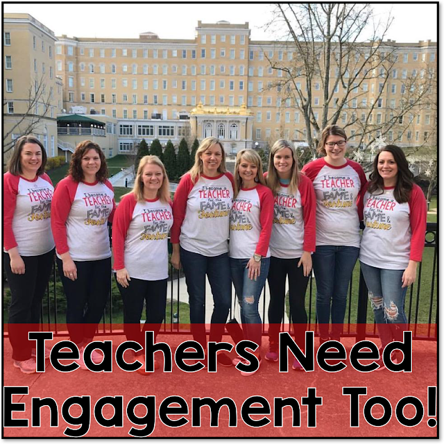 Teacher Engagement at the French Lick 2017 Blogger Meetup