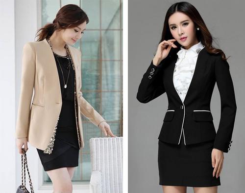 Contoh Model Baju Seragam Kerja Wanita Terbaru