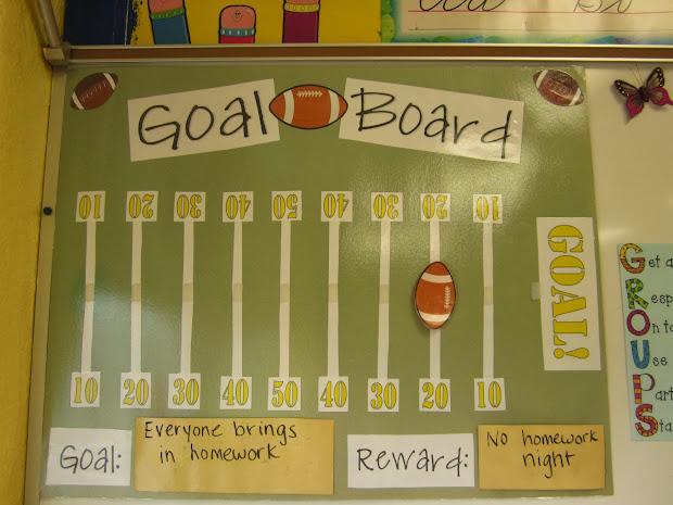 Classroom Goals Board
