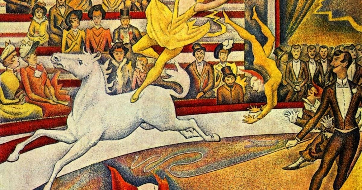 Resultado de imagen de george seurat el circo