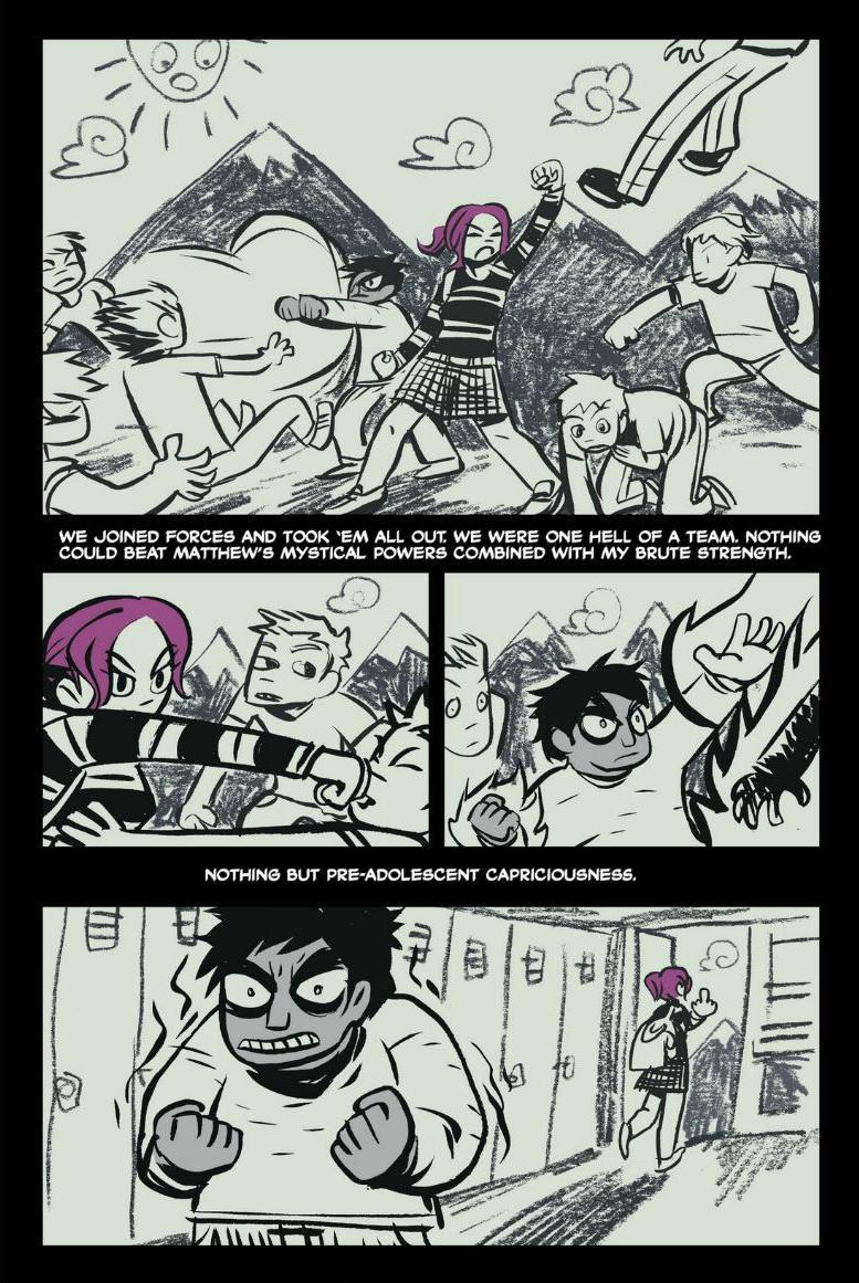Read online Scott Pilgrim comic -  Issue #1 - 134