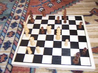 satranc tahtası mat