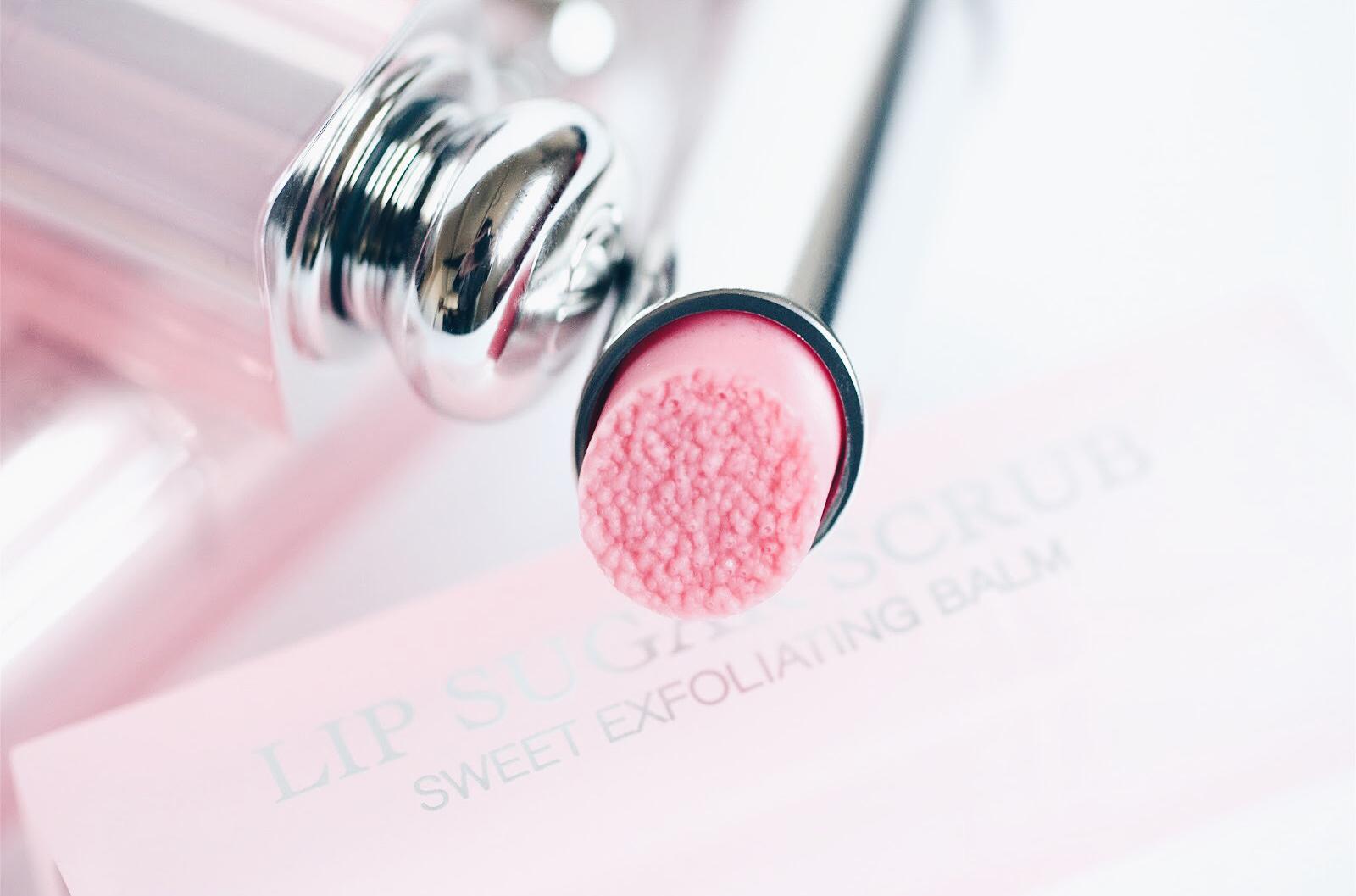 dior lip sugar scrub exfoliant lèvres avis test